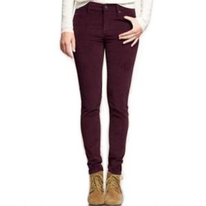 GAP 1969 Corduroy Stretch Legging Jean EUC